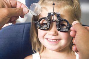 Исследования глаз у детей