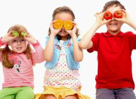 Проверка зрения: картинки для детей