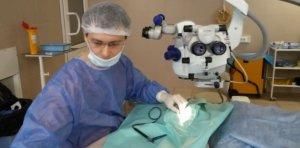 Проникающие ранения глазного яблока
