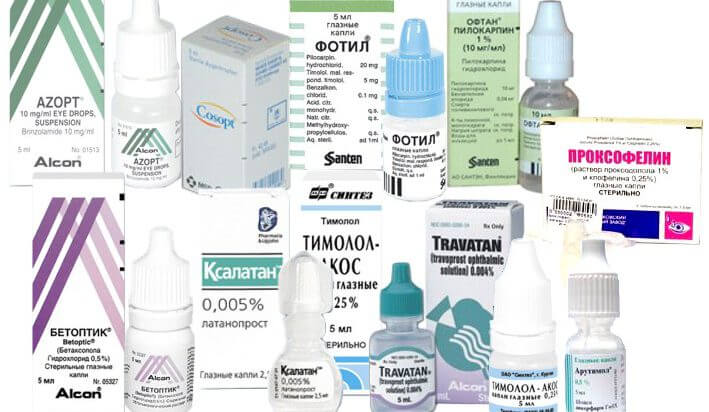 Препараты для лечения глаукомы: что это такое, причины, глазные капли для лечения и противопоказания