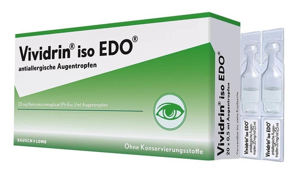 Глазные капли Вивидрин: инструкция по применению