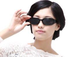 Очки с дырочками: инструкция