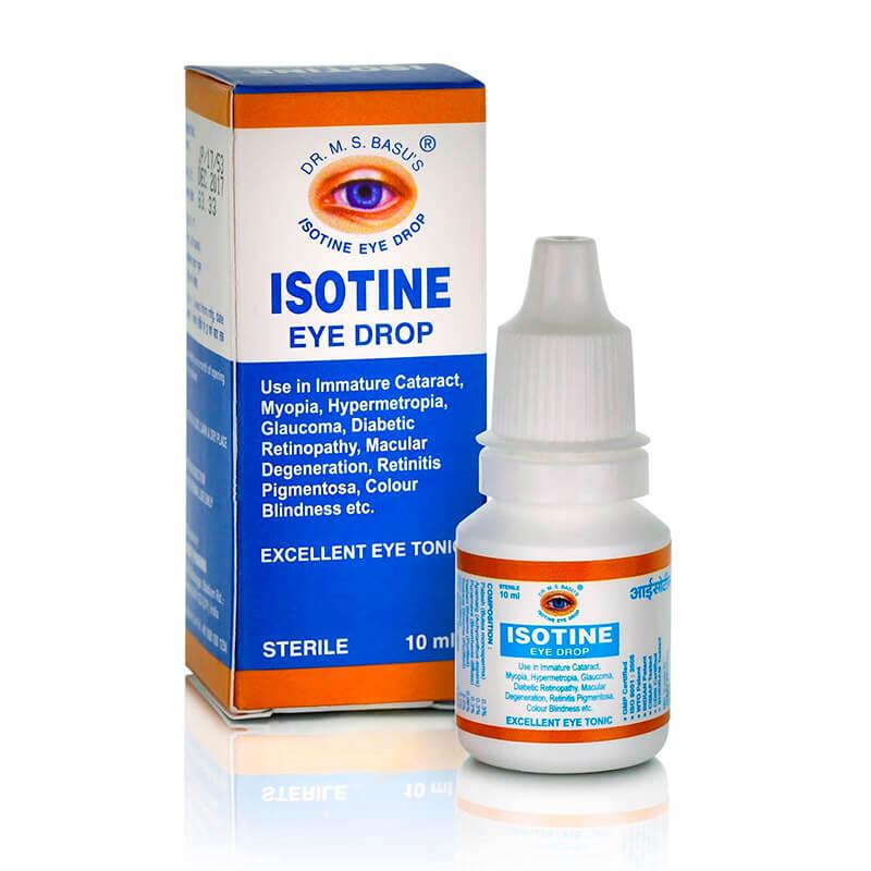 Isotine айсотин глазные капли, отзывы, инструкция по применению