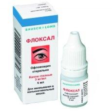 Глазные капли Флоксал, инструкция по применению для детей разных возрастов