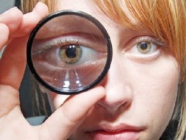 Один глаз видит ярче
