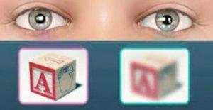 Глаза видят по разному