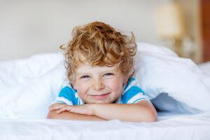 Ребенок после сна