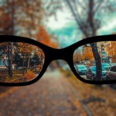 Как близорукие люди видят окружающий мир, в зависимости от степени миопии