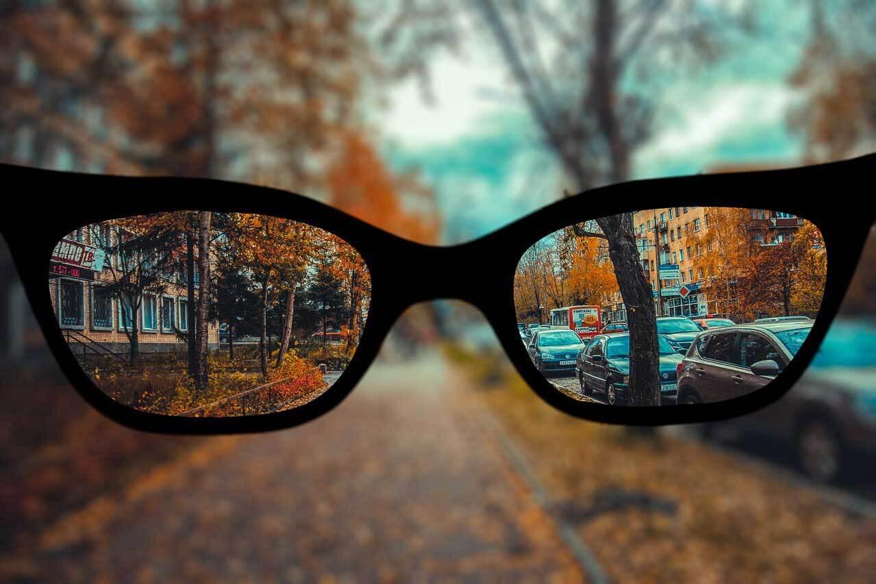 Как видят близорукие люди