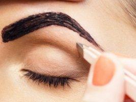 Как покрасить брови краской