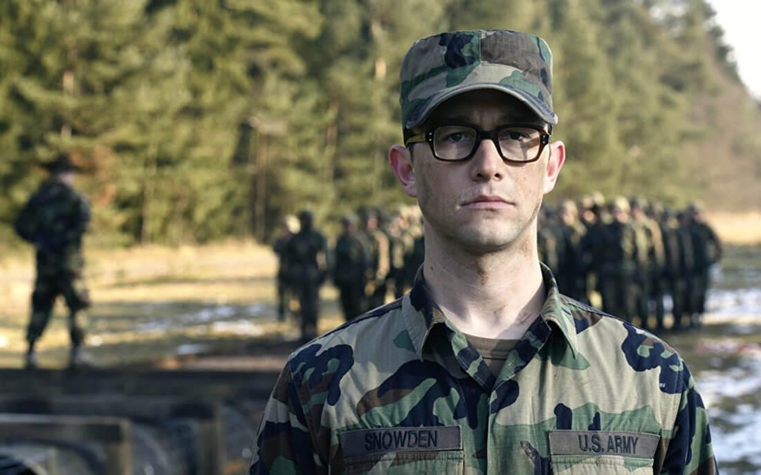 Солдат в очках