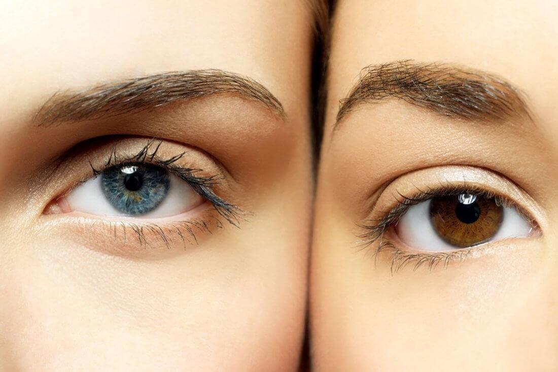 Разные цвета глаз