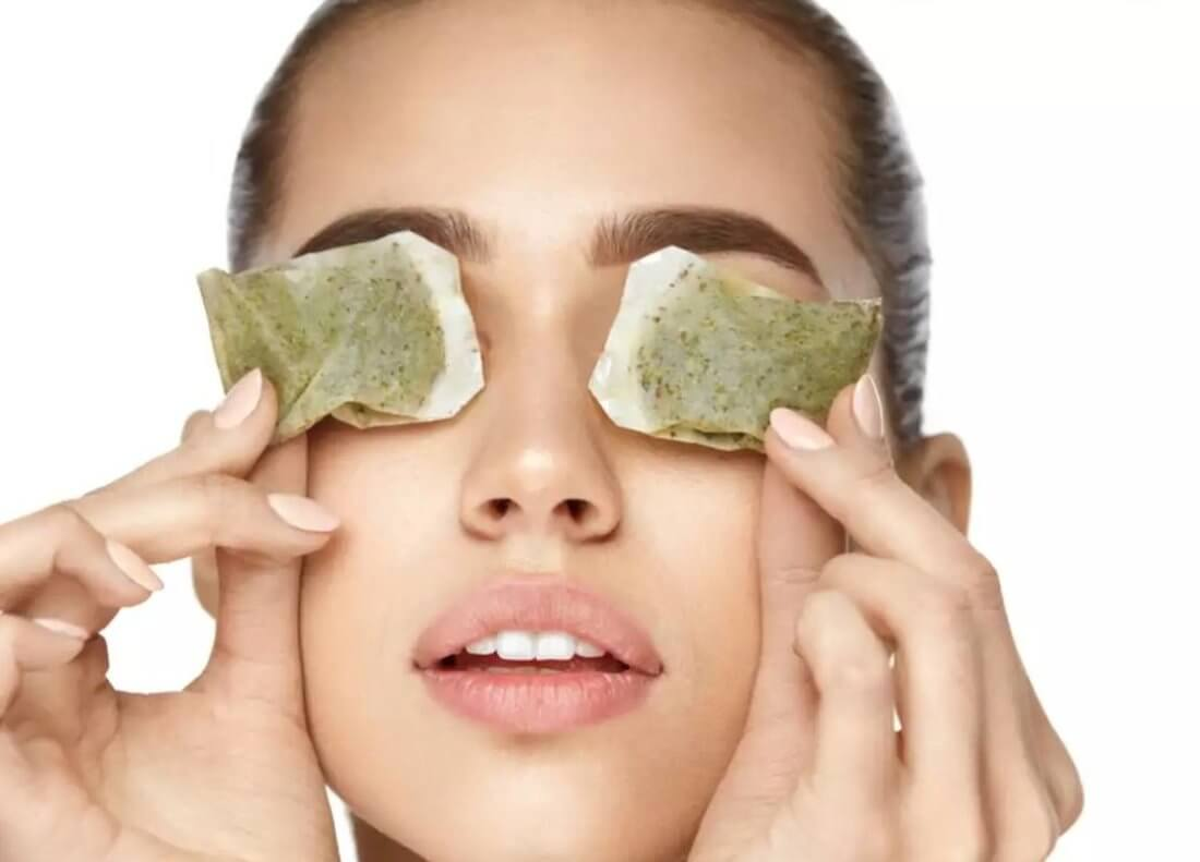 Примочки для глаз из чая (черного и зеленого) от воспалений, что дает